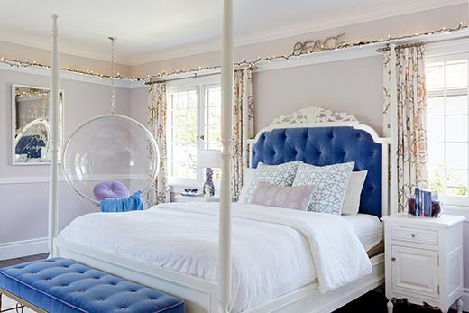 TEEN BEDROOM REMODEL   HANCOCK PARK   DESIGN BY D.L. RHEIN, PHOTO BY AMY BARTLAM